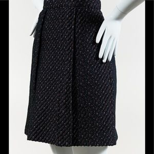 Carven hype Tweed skirt